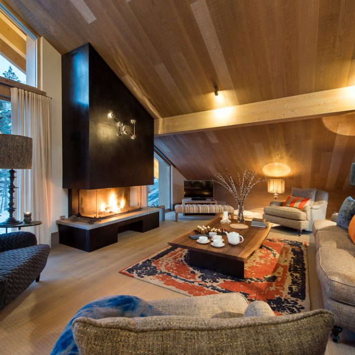 Chalet Alpaca Second Lounge